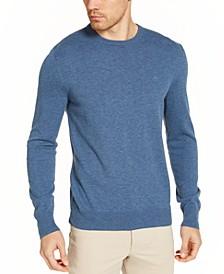 Men's Solid Liquid Sweater
