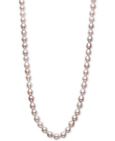 "Oval Cultured Freshwater Pearl (7-1/2mm) 100"" Endless Strand Necklace"