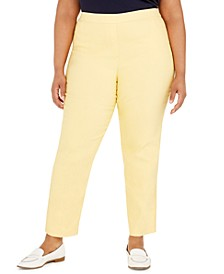 Plus Size Classic Allure Tummy Control Pull-On Pants