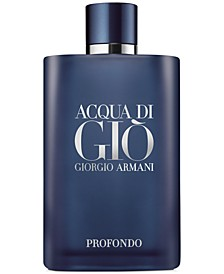 Men's Acqua di Giò Profondo Eau de Parfum Spray, 6.7-oz., First at Macy's!