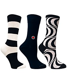 Women's Dress Bundle Socks, 3 Pack