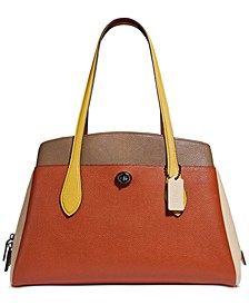 Colorblocked Lora Carryall