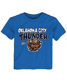 Toddlers Oklahoma City Thunder Basic Logo T-Shirt