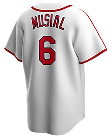 Men's Stan Musial St. Louis Cardinals Coop Player Replica Jersey