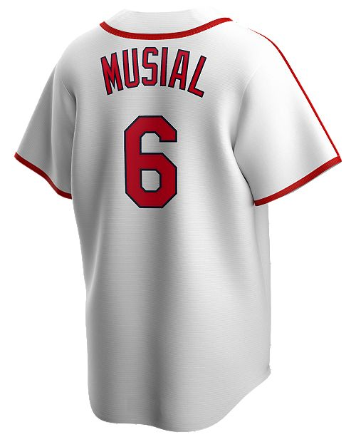 Nike Men's Stan Musial St. Louis Cardinals Coop Player Replica Jersey