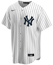 Men's New York Yankees Official Blank Replica Jersey