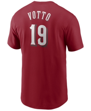 Nike Men's Joey Votto Cincinnati Reds Name and Number Player T-Shirt
