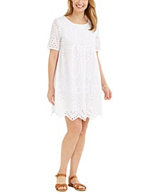 Eyelet Babydoll Dress, Created for Macy's