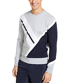 Men's Bold Colorblock Stripe Sweatshirt