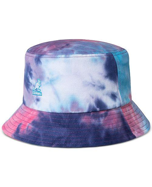 Kangol Men's Tie-Dyed Bucket Hat