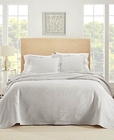 Ella European Matalasse Coverlet Set Queen