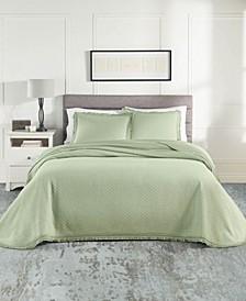 Woven Jacquard Bedspread Set Twin