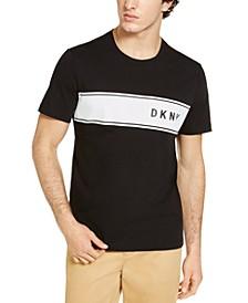 Men's Perforated Stripe Logo T-Shirt