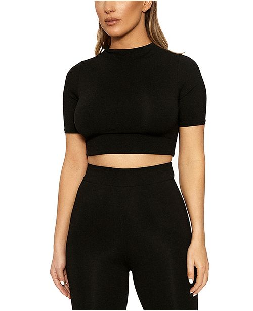 Naked Wardrobe The NW Cropped Top