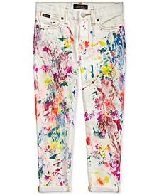 폴로 랄프로렌 남아용 데님진 Polo Ralph Lauren Little Girls Astor Slim Boyfriend Jeans,Andie Wash