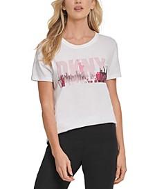 Glitter Graphic T-Shirt