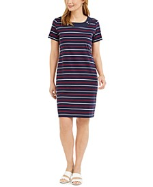 Cotton Striped Dress, Created for Macy's