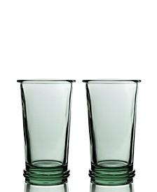 Ring High Ball Glasses - Set of 2