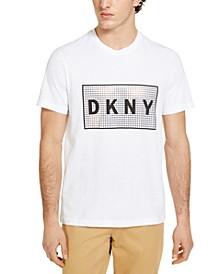 Men's Foil Grid Logo T-Shirt