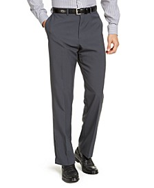 Men's Classic-Fit Non-Iron Solid Dress Pants, Created for Macy's