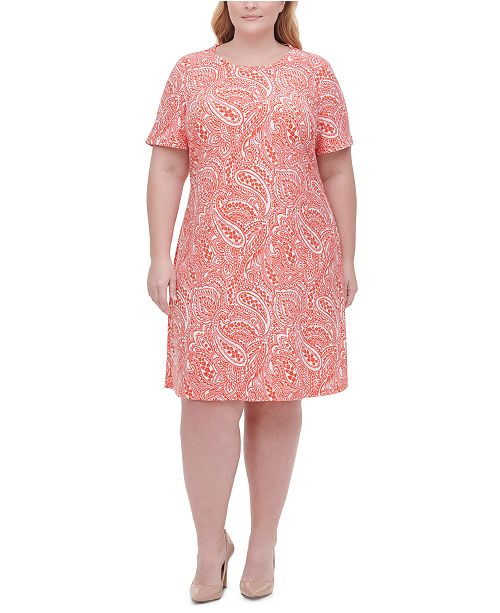 Tommy Hilfiger Plus Size Printed Dress