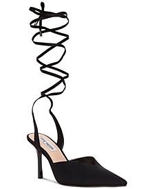 Women's Mari Ankle-Tie Pumps