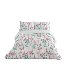 Marjorie 3 Piece Duvet Set, King