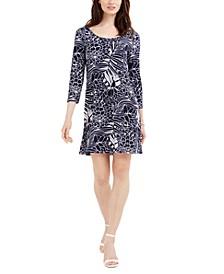 Erin Floral-Print Sheath Dress