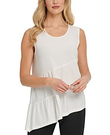 Asymmetrical Tiered Top