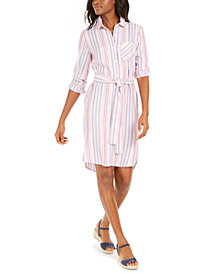 Tommy Hilfiger Striped Shirtdress