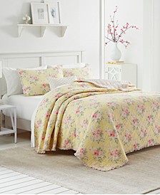 Melany Ruffled King Quilt