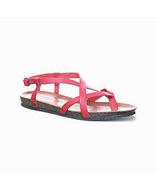 BEARPAW Women's Lucia Flat Sandals
