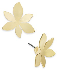 Gold-Tone Flower Stud Earrings, Created for Macy's