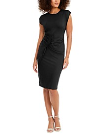 INC Pleated Midi Dress, Created for Macy's