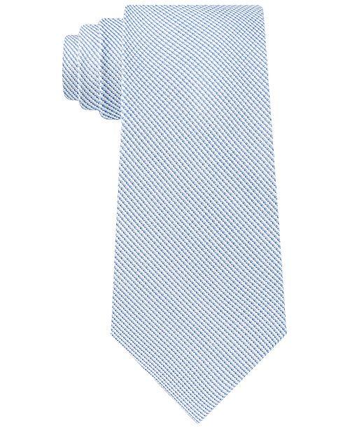 Calvin Klein Men's Double-Thread Micro-Stripe Tie
