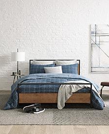 Kenneth Cole New York Holden Grid Full/Queen Comforter Set