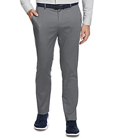 Portfolio Men's Slim-Fit Stretch Cotton Dress Pants
