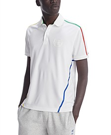 Men's Page Stripe Polo Shirt, Created for Macy's