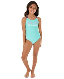 Big Girls 1-Pc. Real Life Mermaid Swimsuit
