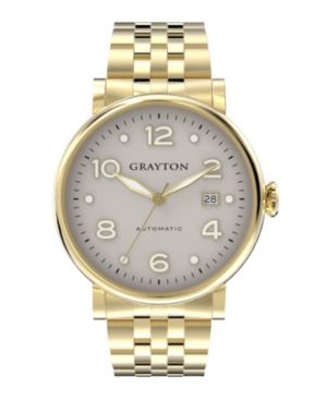 Men's Classic Collection Ip Gold Tone Stainless Steel Bracelet Watch 44Mm