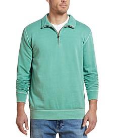 Men's Quarter-Zip Knit Sweater