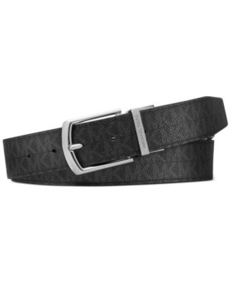 Club Room Striped Casual Belt Blue White Mens 38 New