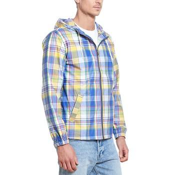 Weatherproof Vintage Men's Plaid Hooded Jacket