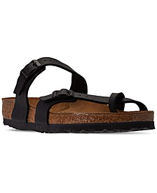 Women's Mayari Birko-Flor Casual Sandals from Finish Line