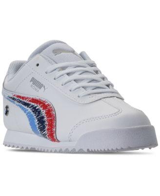 puma bmw white sneakers