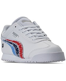 Little Boys BMW NMS Roma Casual Sneakers from Finish Line