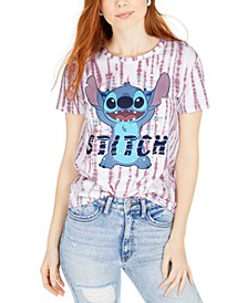 Juniors' Stitch Tie-Dyed T-Shirt
