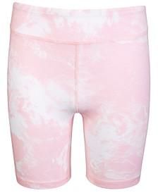 Big Girl Tie Dye Bike Shorts, Created for Macy's