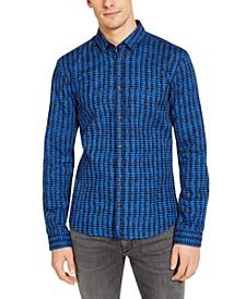 Men's Ero Extra-Slim Fit Woven Print Shirt