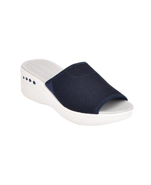 Easy Spirit Brownie2 Wedge Sandals